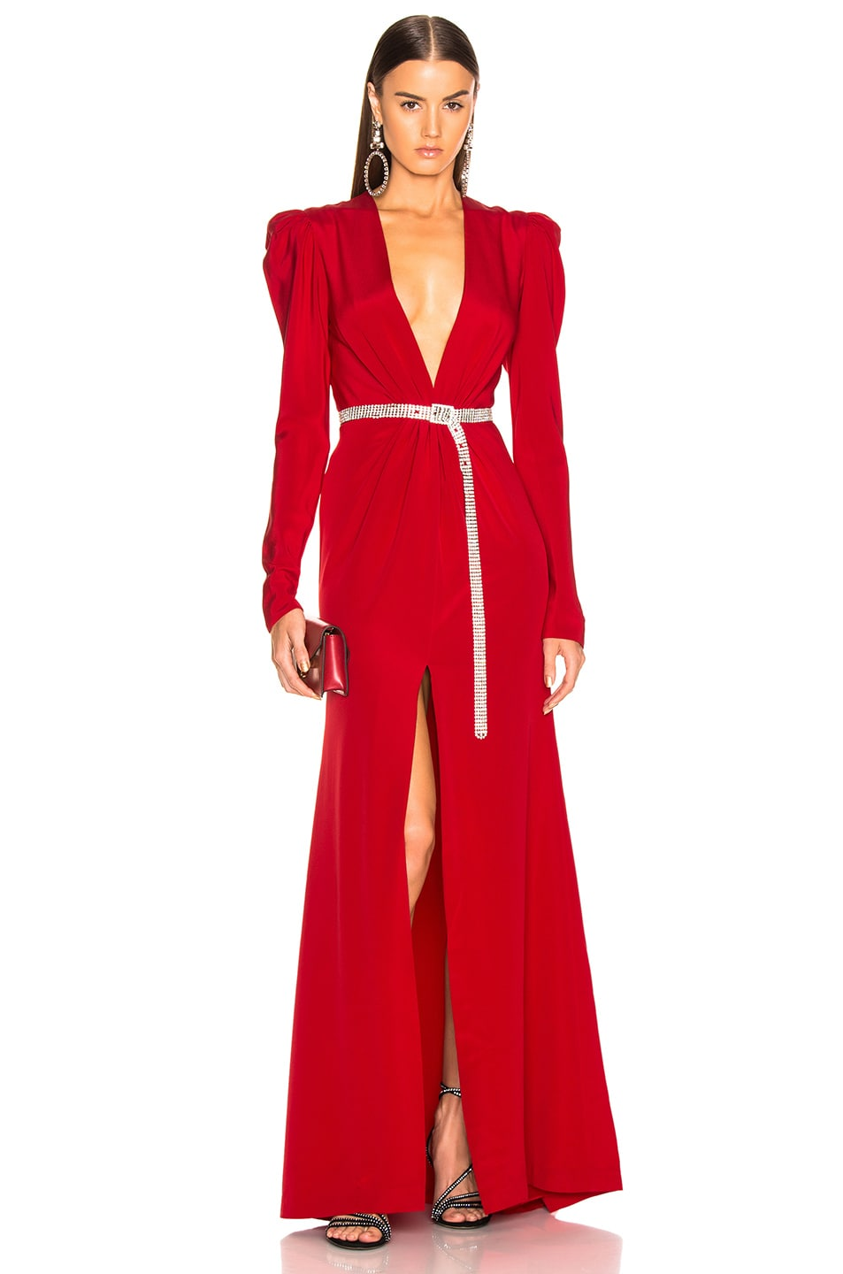 Image 1 of SILVIA TCHERASSI Caeli Dress in Red