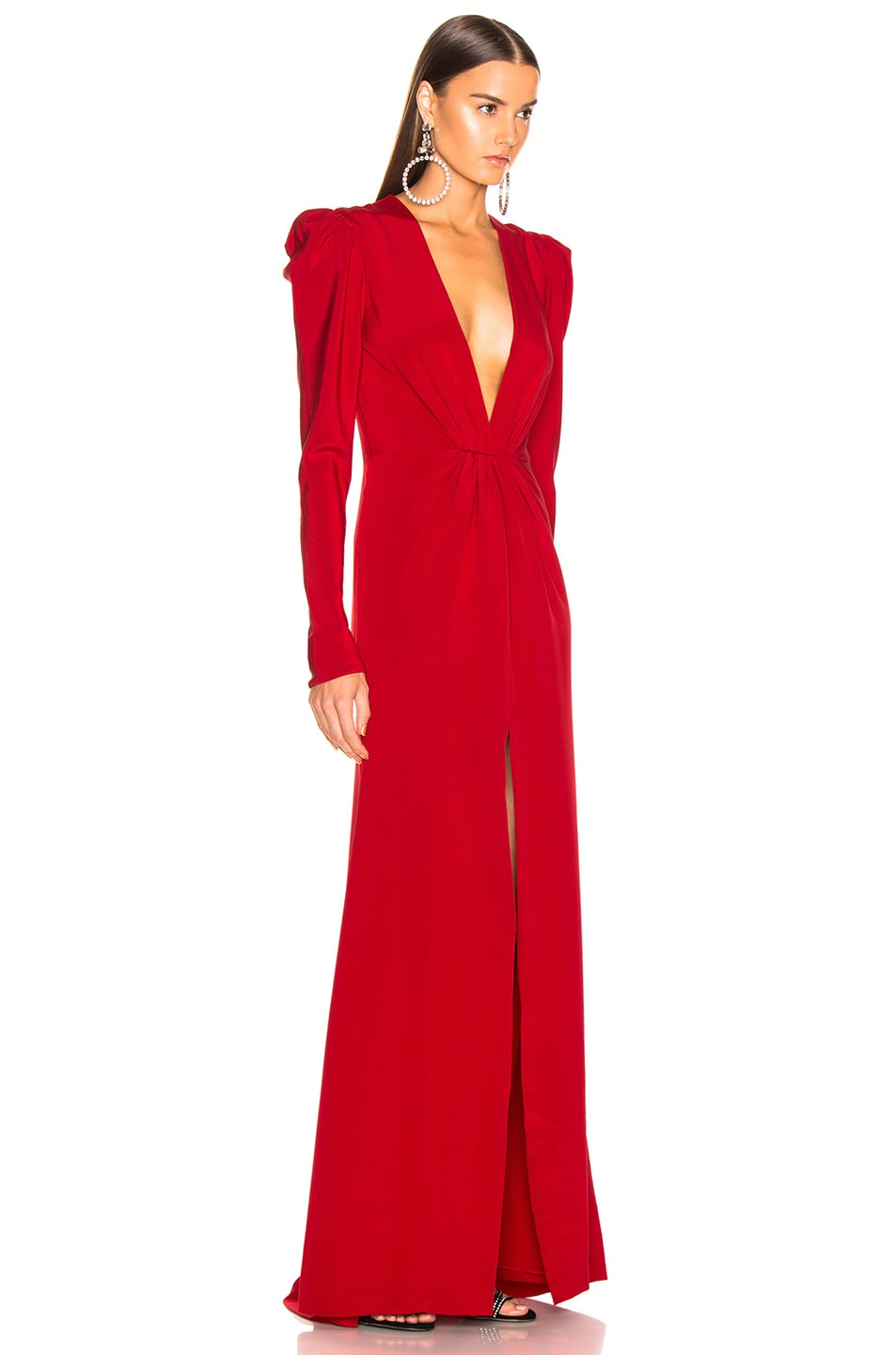 Image 3 of SILVIA TCHERASSI Caeli Dress in Red