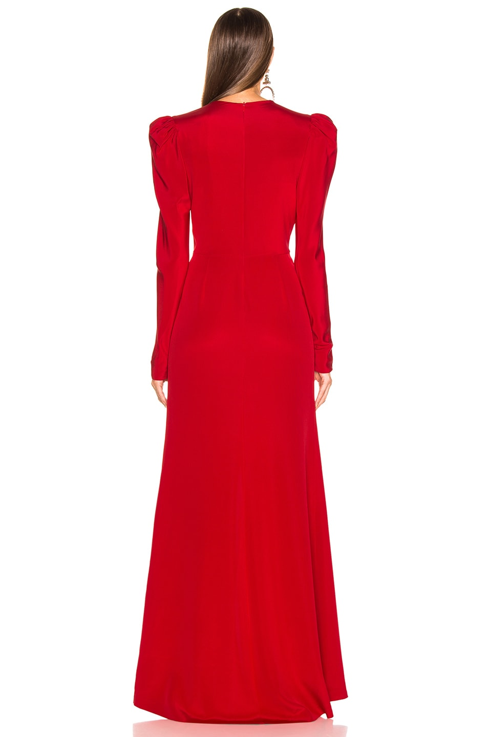 Image 4 of SILVIA TCHERASSI Caeli Dress in Red