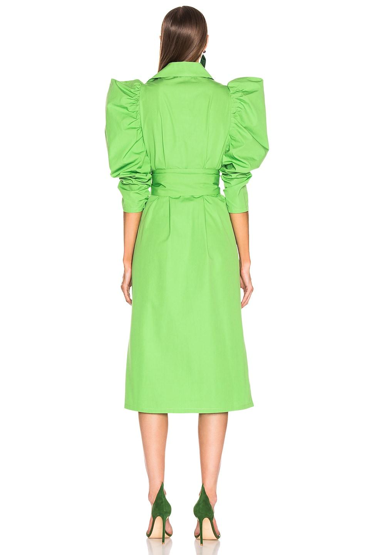 Image 3 of SILVIA TCHERASSI Tokio Dress in Seafoam Green