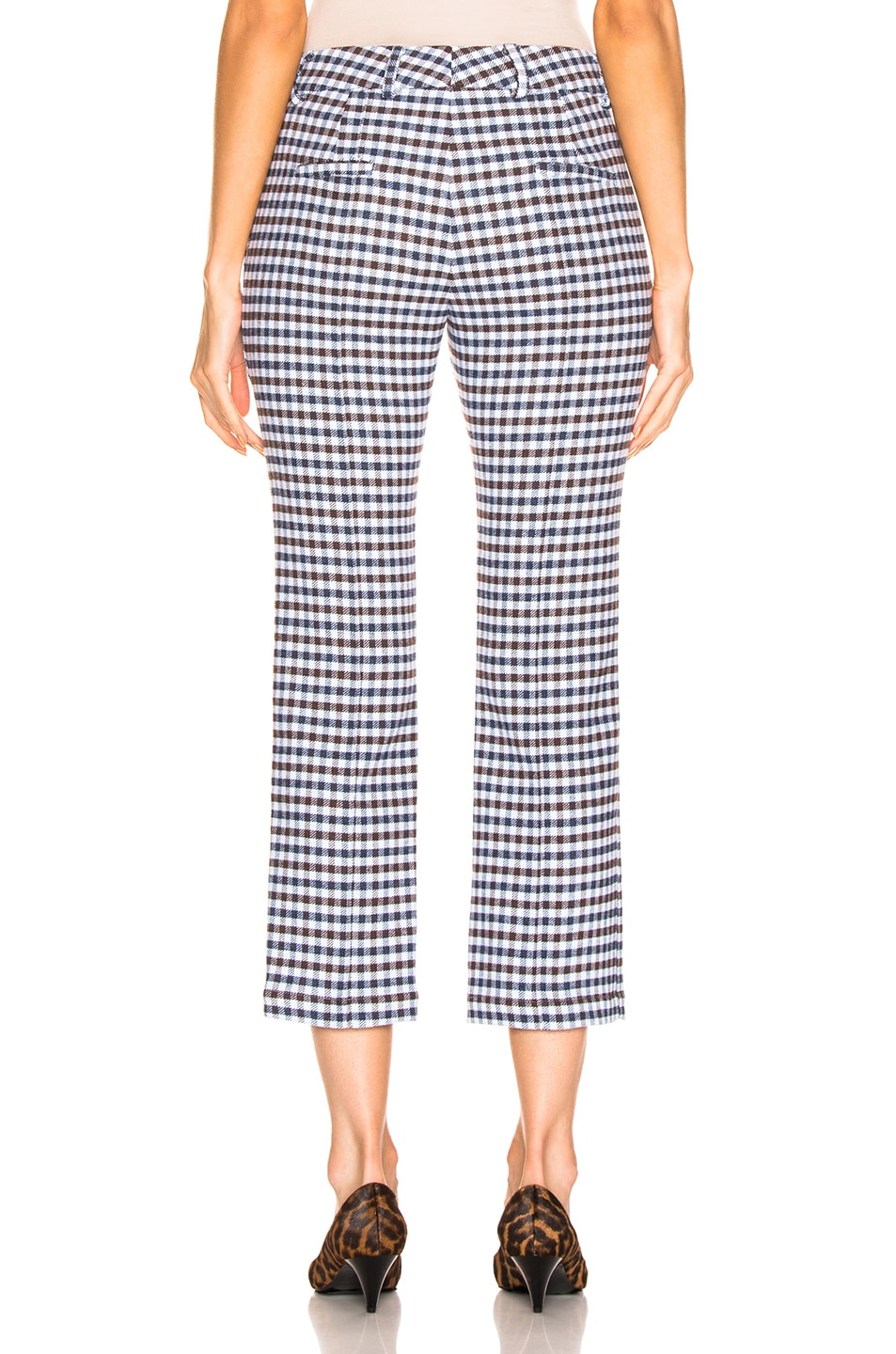 Image 3 of SILVIA TCHERASSI Leira Pant in Checkered Navy