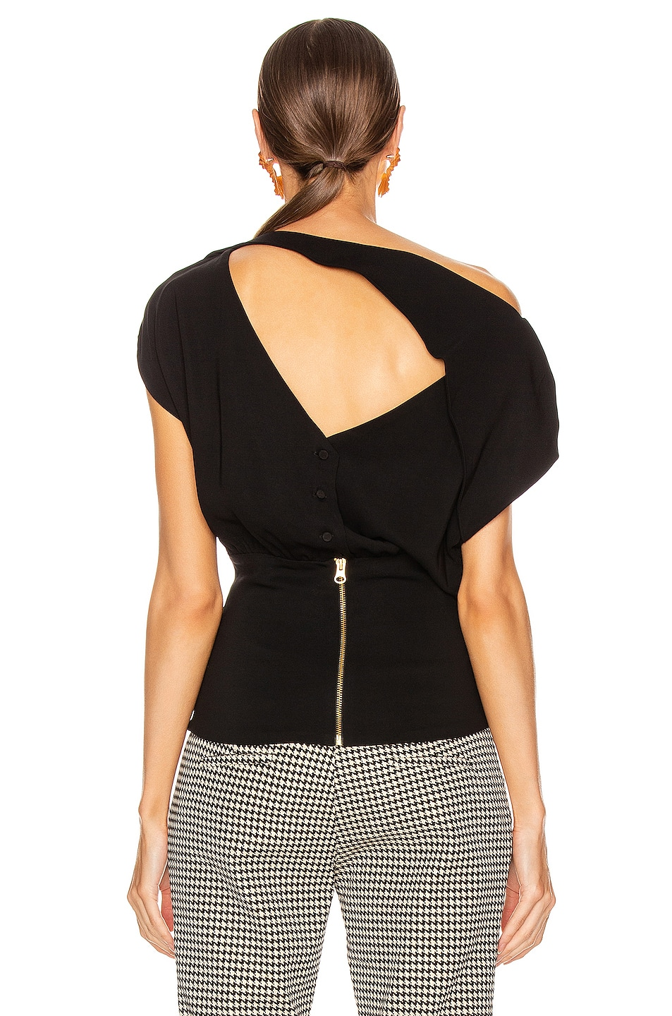 Image 3 of SILVIA TCHERASSI Alejandrina Blouse in Black