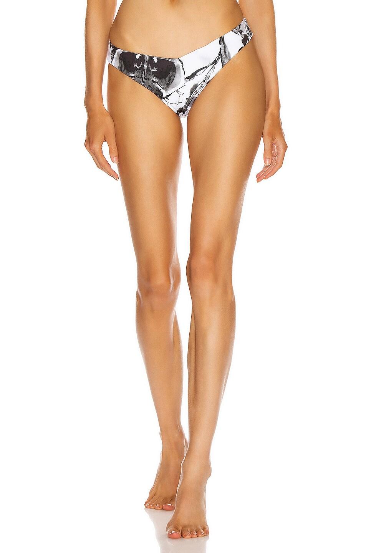 Image 1 of SILVIA TCHERASSI Fermina Bikini Bottom in Ivory Floral