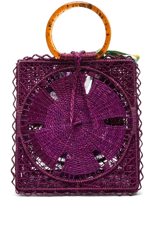 Image 3 of SILVIA TCHERASSI Luriza Bag in Magenta