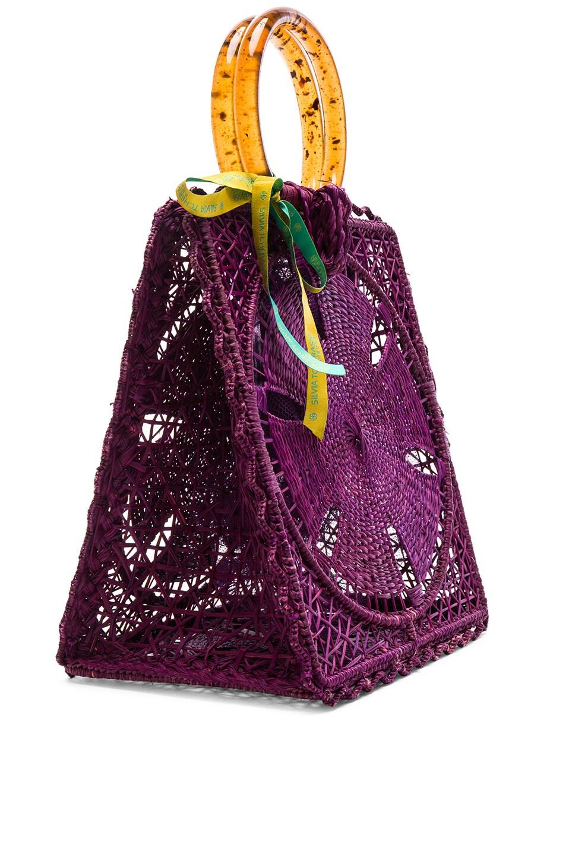Image 4 of SILVIA TCHERASSI Luriza Bag in Magenta