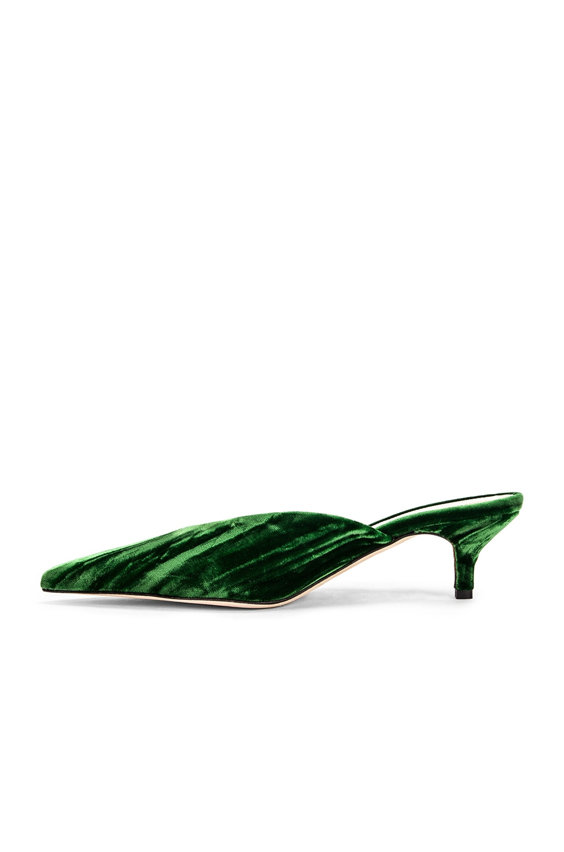Image 5 of SILVIA TCHERASSI x Gia Couture Bandana Girl Slide in Emerald Green