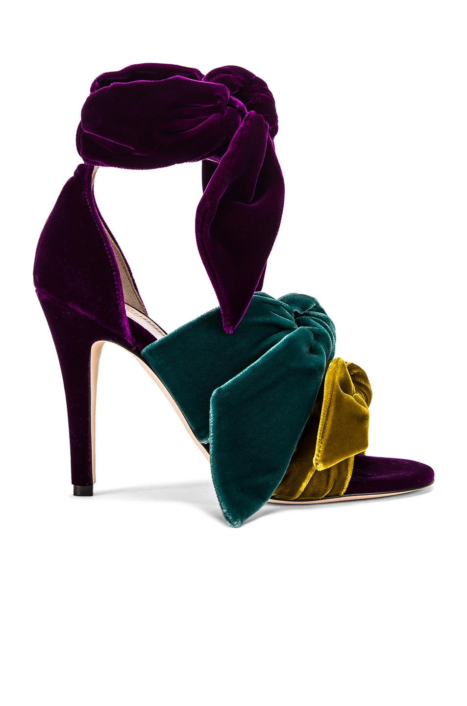 Image 1 of SILVIA TCHERASSI x Gia Couture Bowie Heel in Multi Jewel