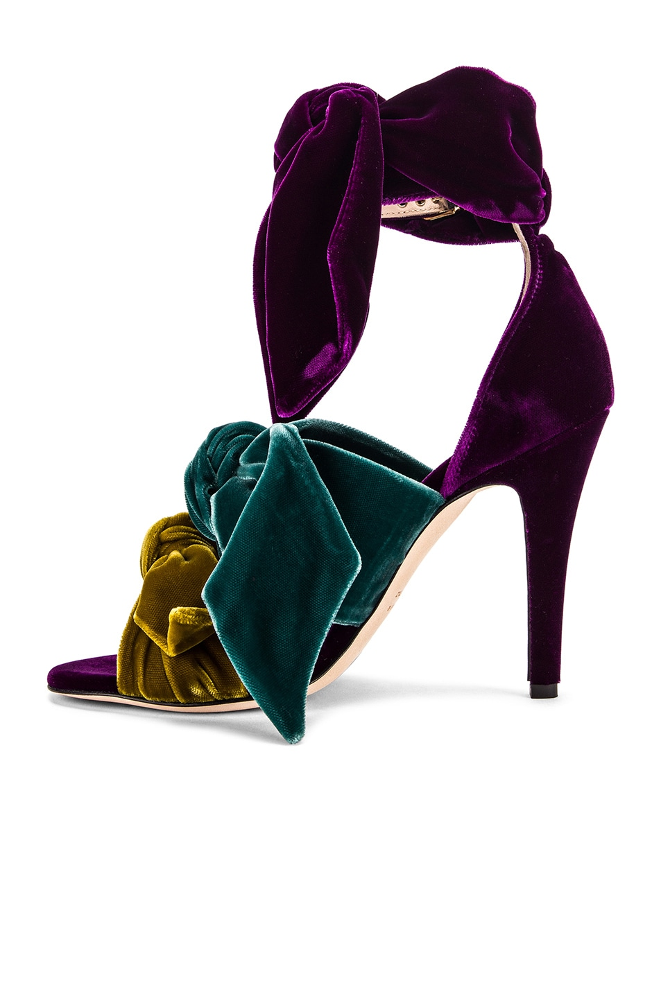 Image 5 of SILVIA TCHERASSI x Gia Couture Bowie Heel in Multi Jewel