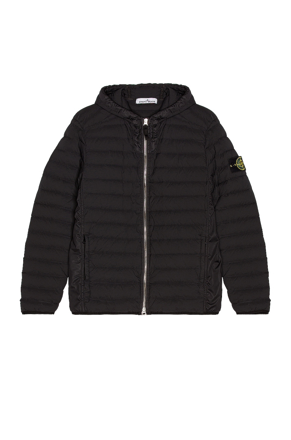 Image 1 of Stone Island Down Jacket in Black