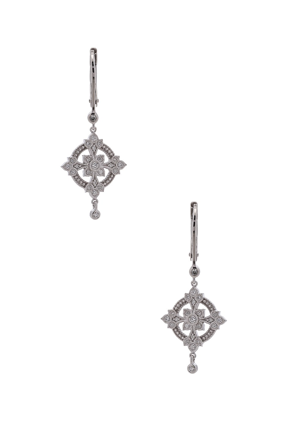 STONE PARIS EXQUISE EARRINGS IN METALLICS