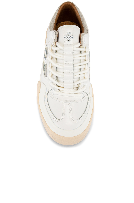 Image 4 of Stratica International Monaco Court Shoe in White