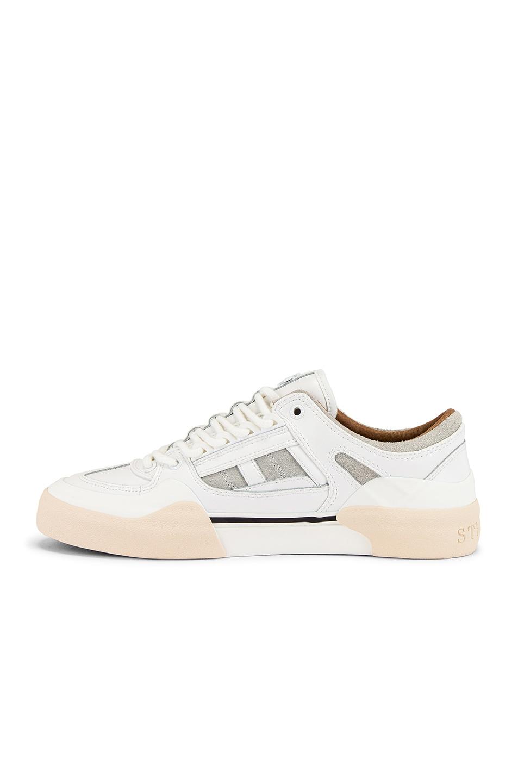 Image 5 of Stratica International Monaco Court Shoe in White