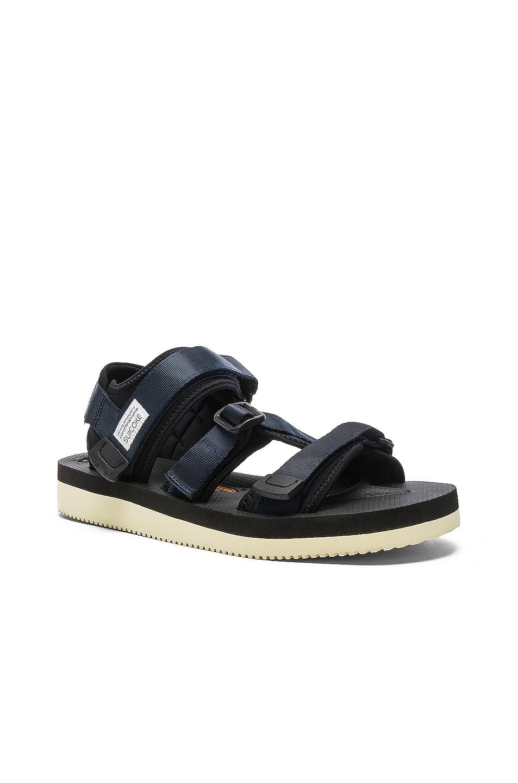 Image 2 of Suicoke KISEE V Sandals in Navy