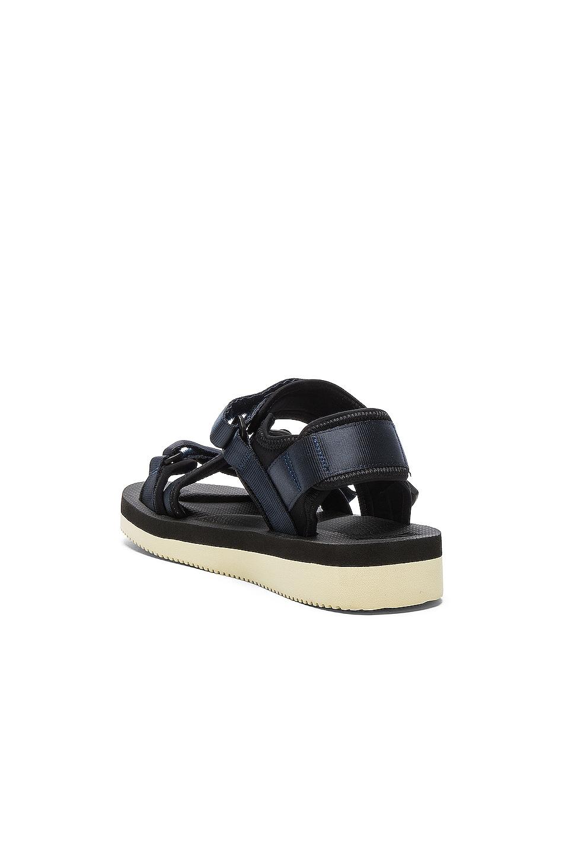 Image 3 of Suicoke KISEE V Sandals in Navy