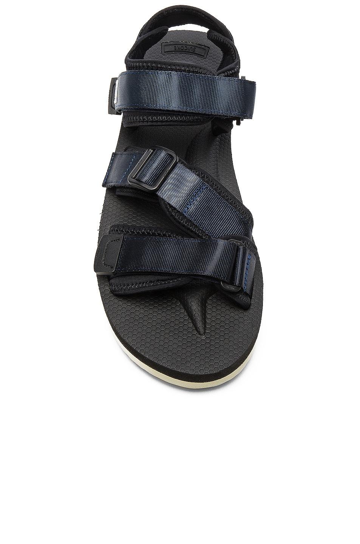 Image 4 of Suicoke KISEE V Sandals in Navy