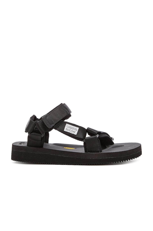 cf087079394 Image 1 of Suicoke DEPA V2 Sandals in Black