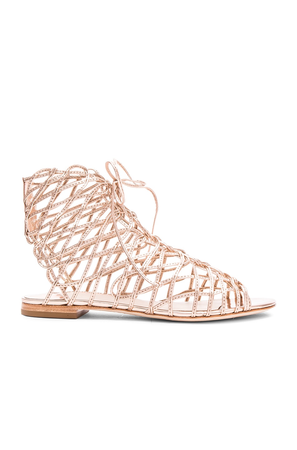 Image 1 of Sophia Webster Delphine Gladiator in Gold