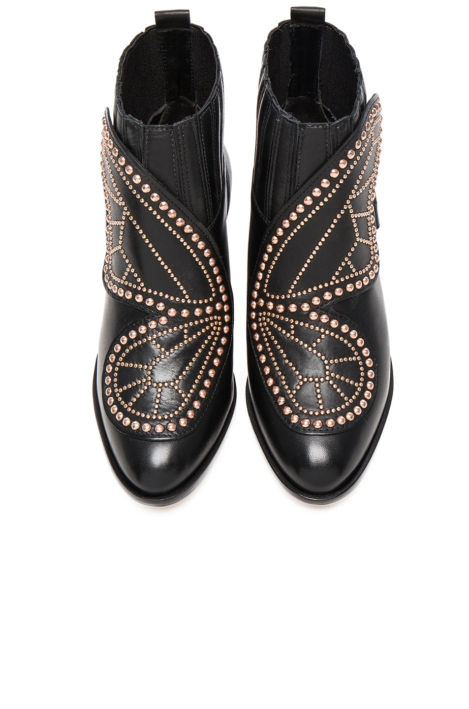 Image 1 of Sophia Webster Karina Butterfly Boots in Black
