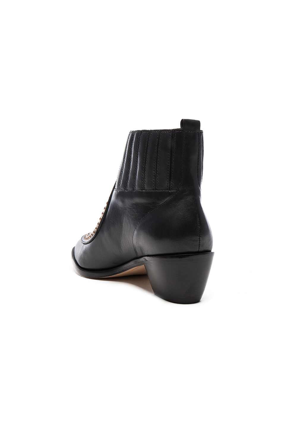 Image 4 of Sophia Webster Karina Butterfly Boots in Black