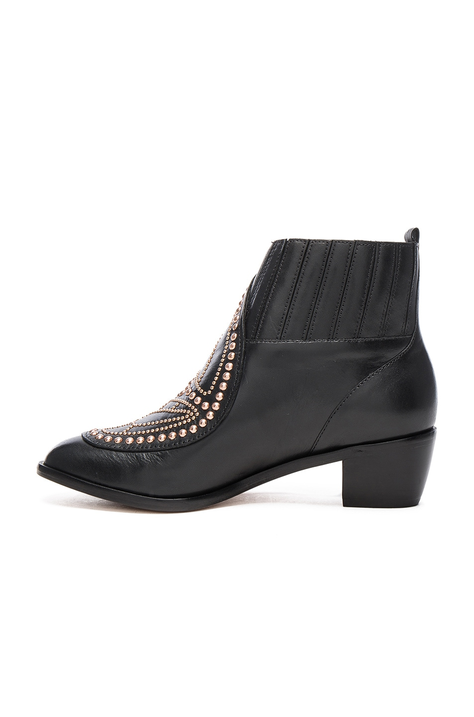 Image 5 of Sophia Webster Karina Butterfly Boots in Black