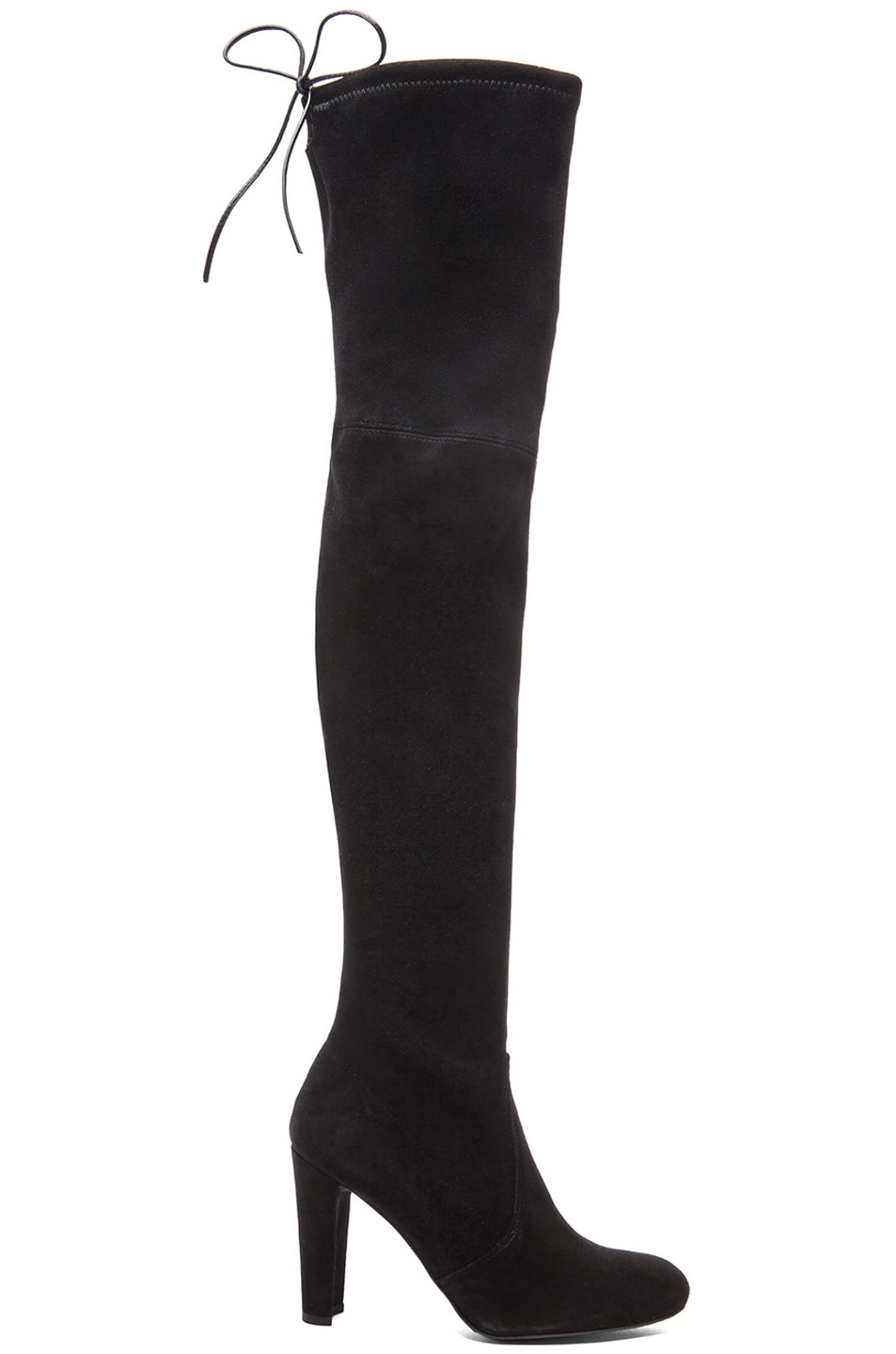 Image 1 of Stuart Weitzman Highland Suede Boots in Black
