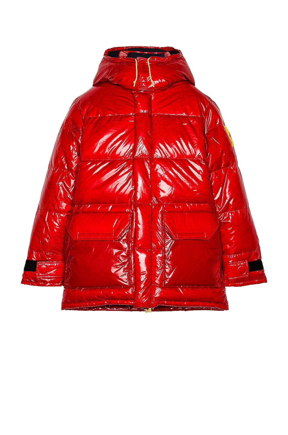 Image 1 of The North Face Brown Label Ripstop Parka in TNF Red