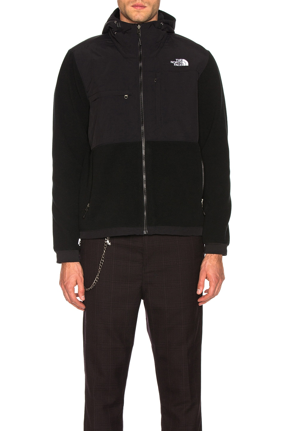 Image 2 of The North Face Denali 2 Hoodie in TNF Black