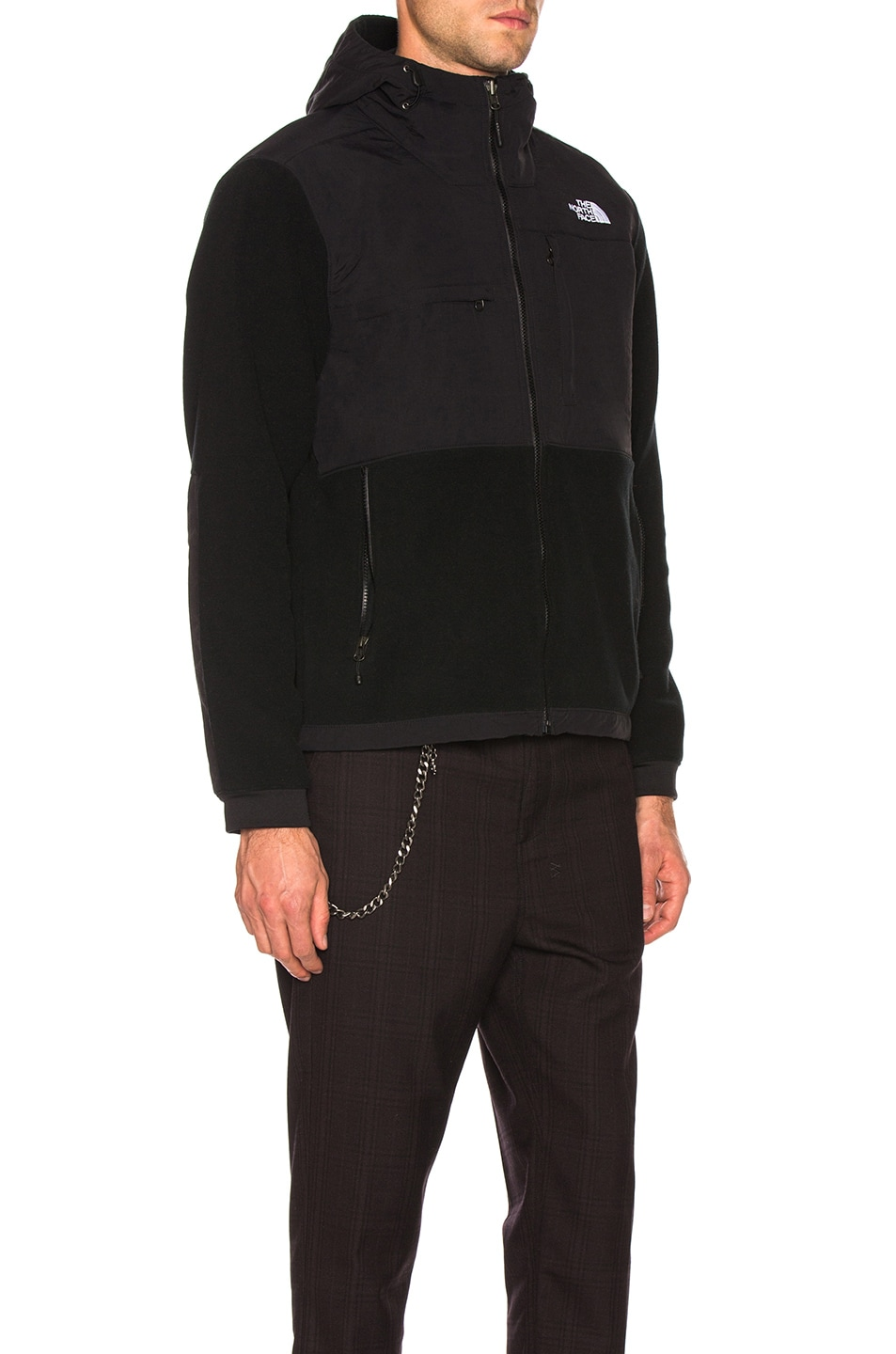 Image 3 of The North Face Denali 2 Hoodie in TNF Black