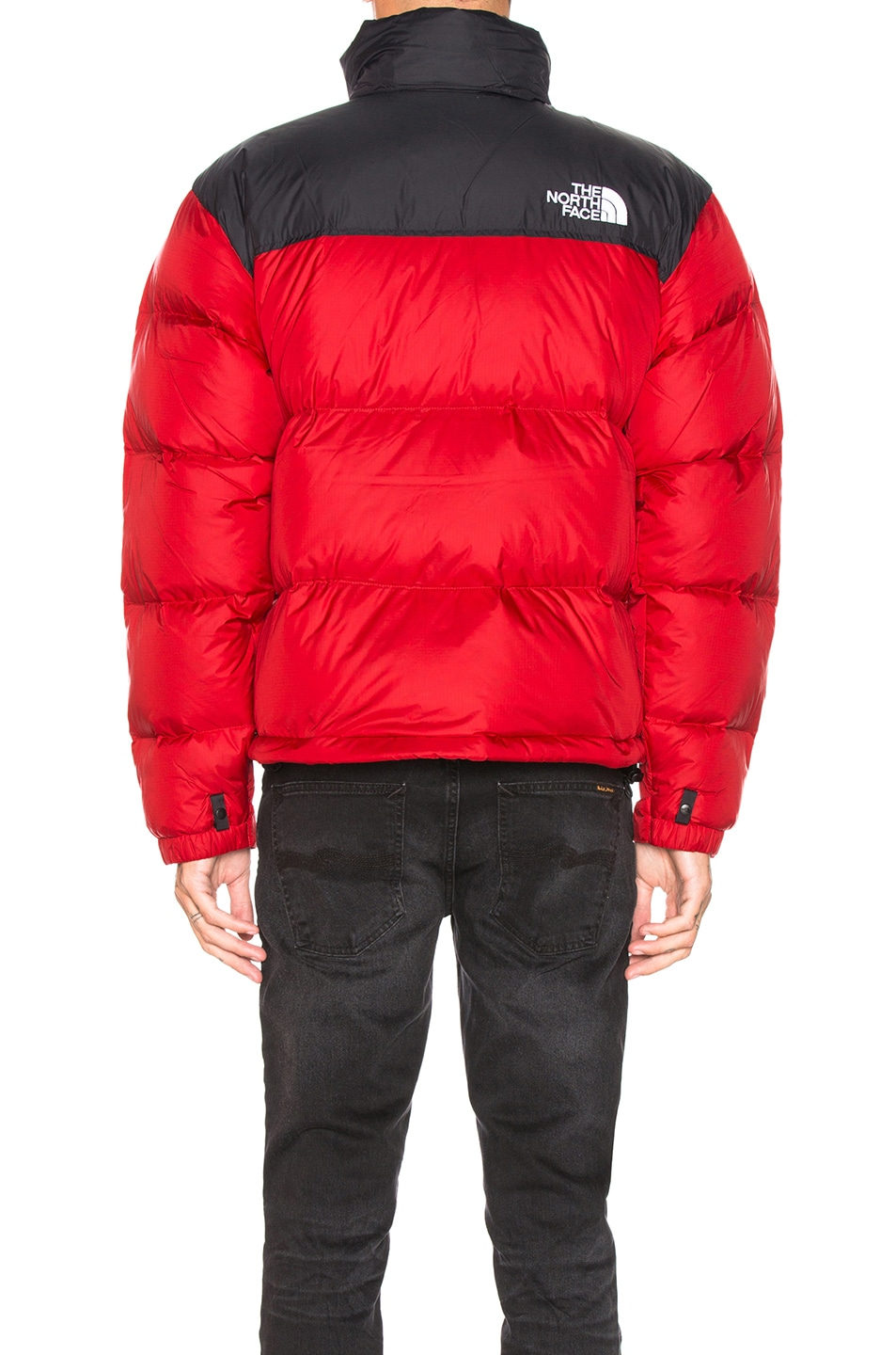 Image 4 of The North Face 1996 Retro Nuptse Jacket in TNF Red