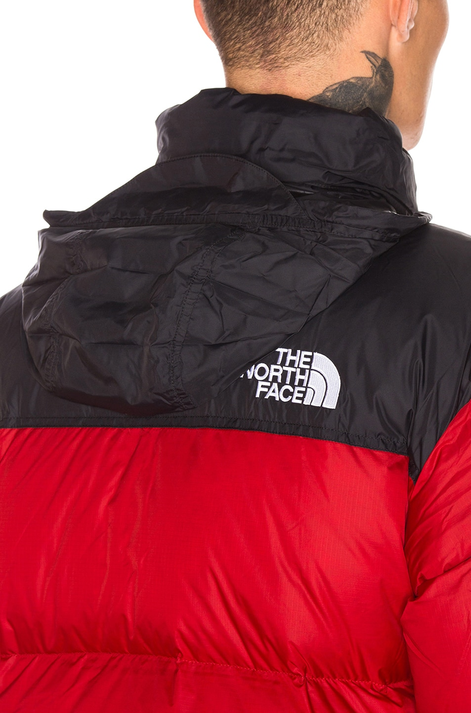 Image 6 of The North Face 1996 Retro Nuptse Jacket in TNF Red