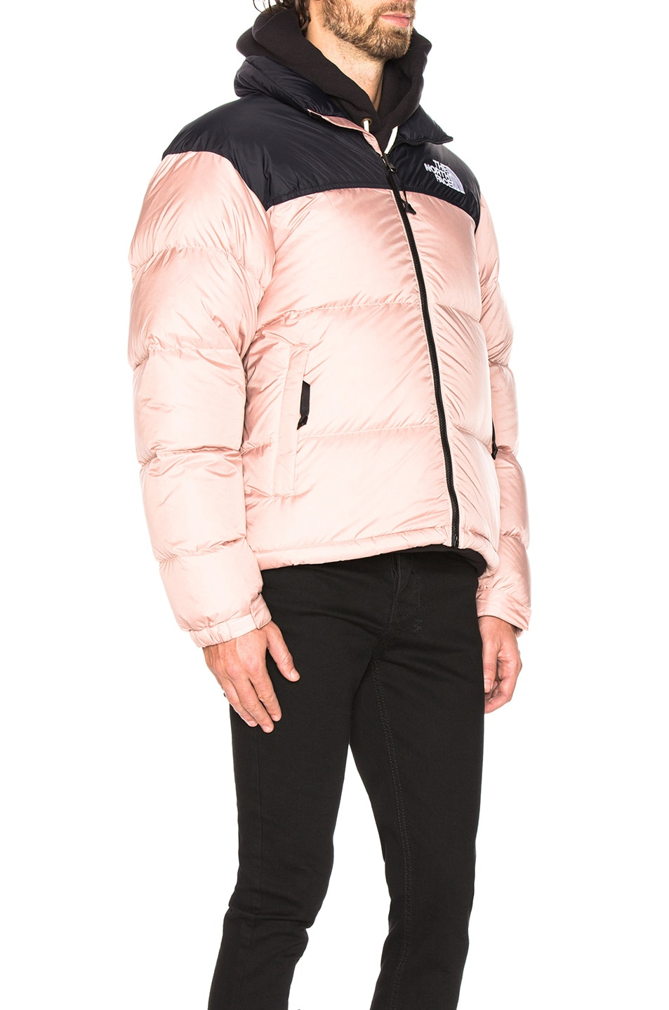 76678f569f10 Image 3 of The North Face 1996 Retro Nuptse Jacket in Misty Rose