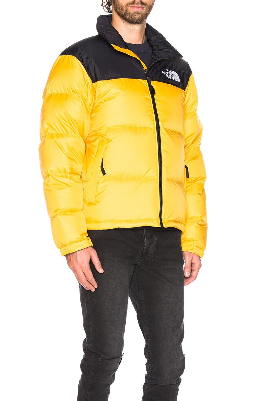 a09d87fcb The North Face 1996 Retro Nuptse Jacket in TNF Yellow | FWRD