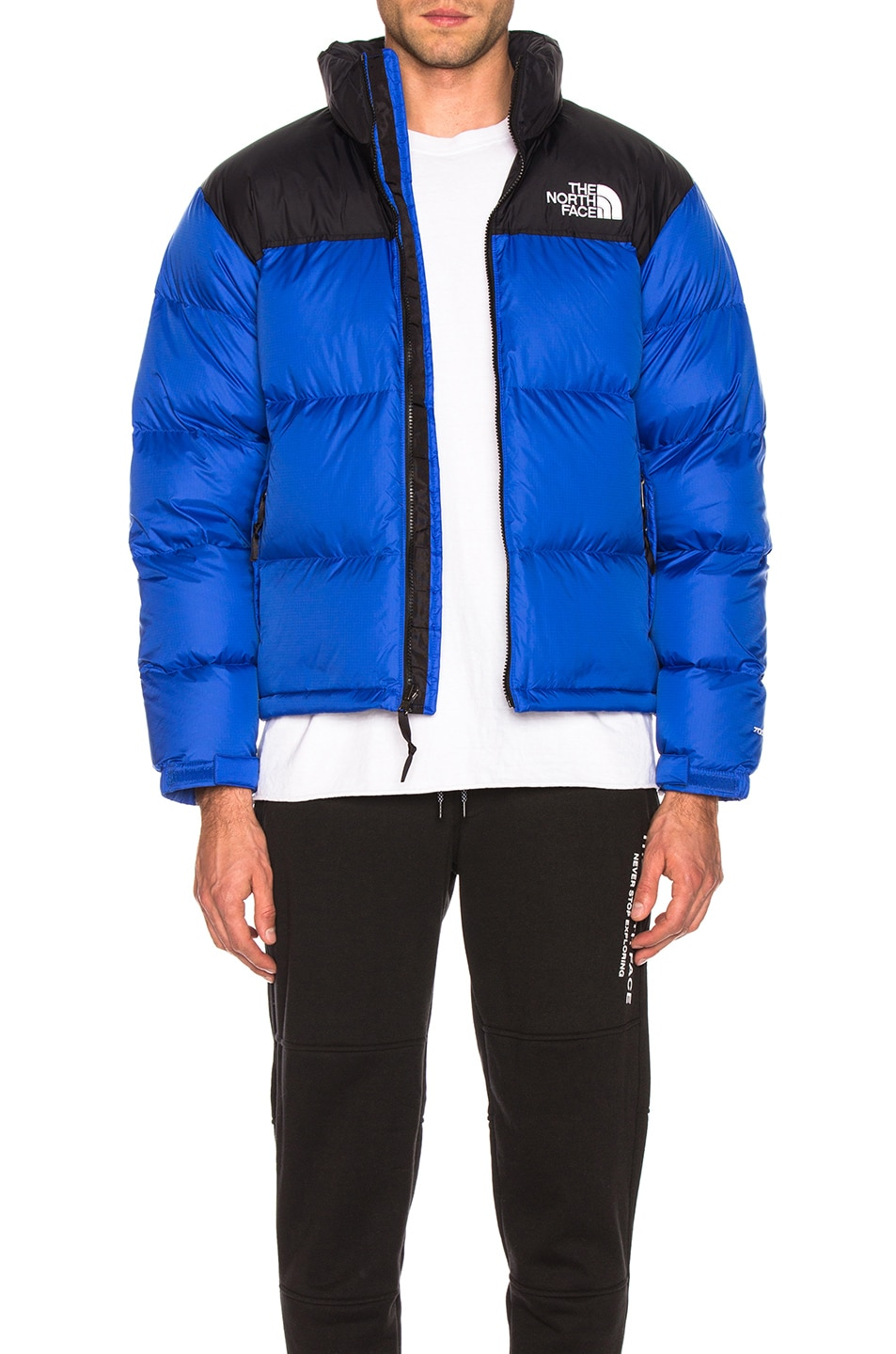 Image 1 of The North Face 1996 Retro Nuptse Jacket in TNF Blue