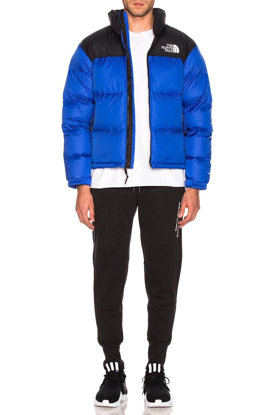 Image 5 of The North Face 1996 Retro Nuptse Jacket in TNF Blue