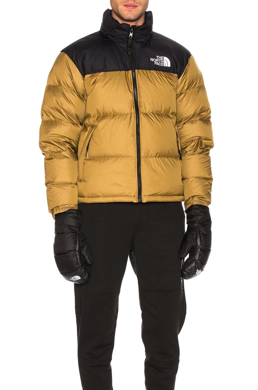 Image 1 of The North Face 1996 Retro Nuptse Jacket in British Khaki