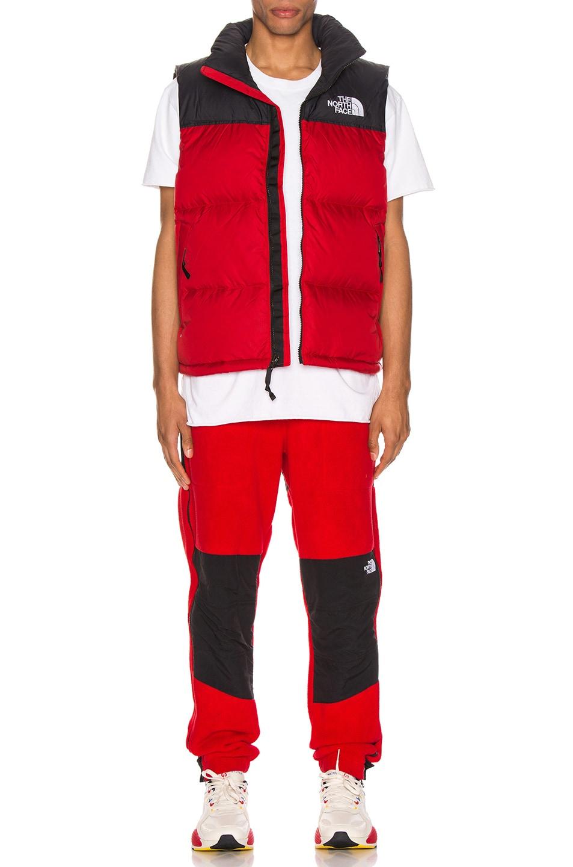 Image 5 of The North Face 1996 Retro Nuptse Vest in TNF Red