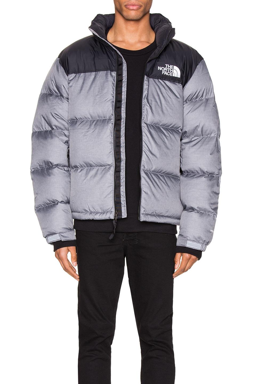 Image 1 of The North Face 1996 Retro Nuptse Jacket in TNF Medium Grey Heather
