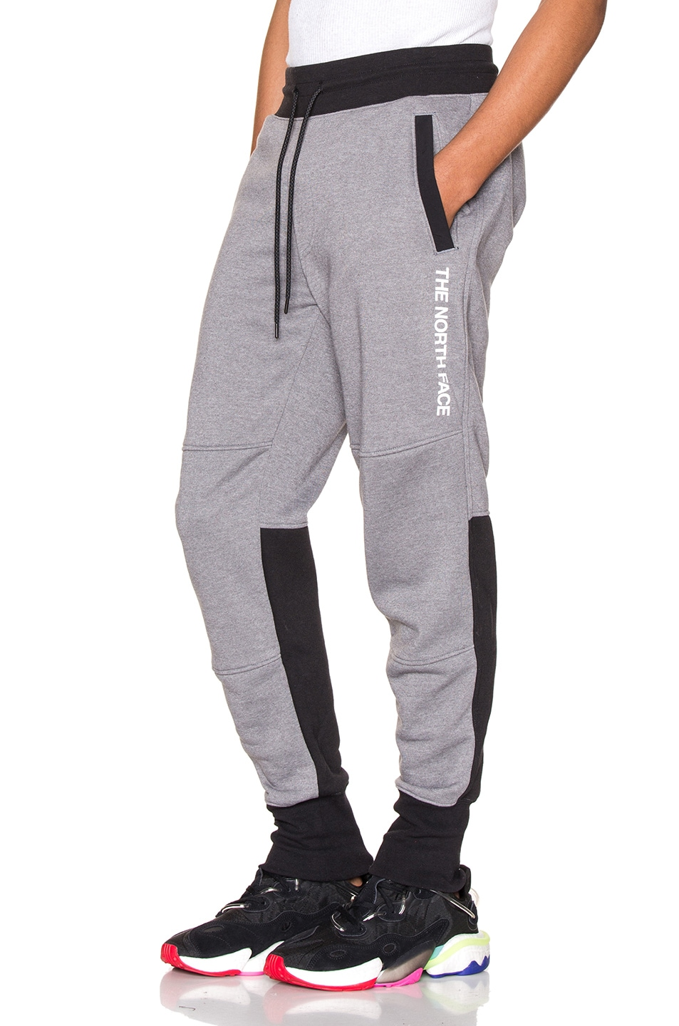 Image 1 of The North Face NSE Graphic Pant in TNF Medium Grey Heather