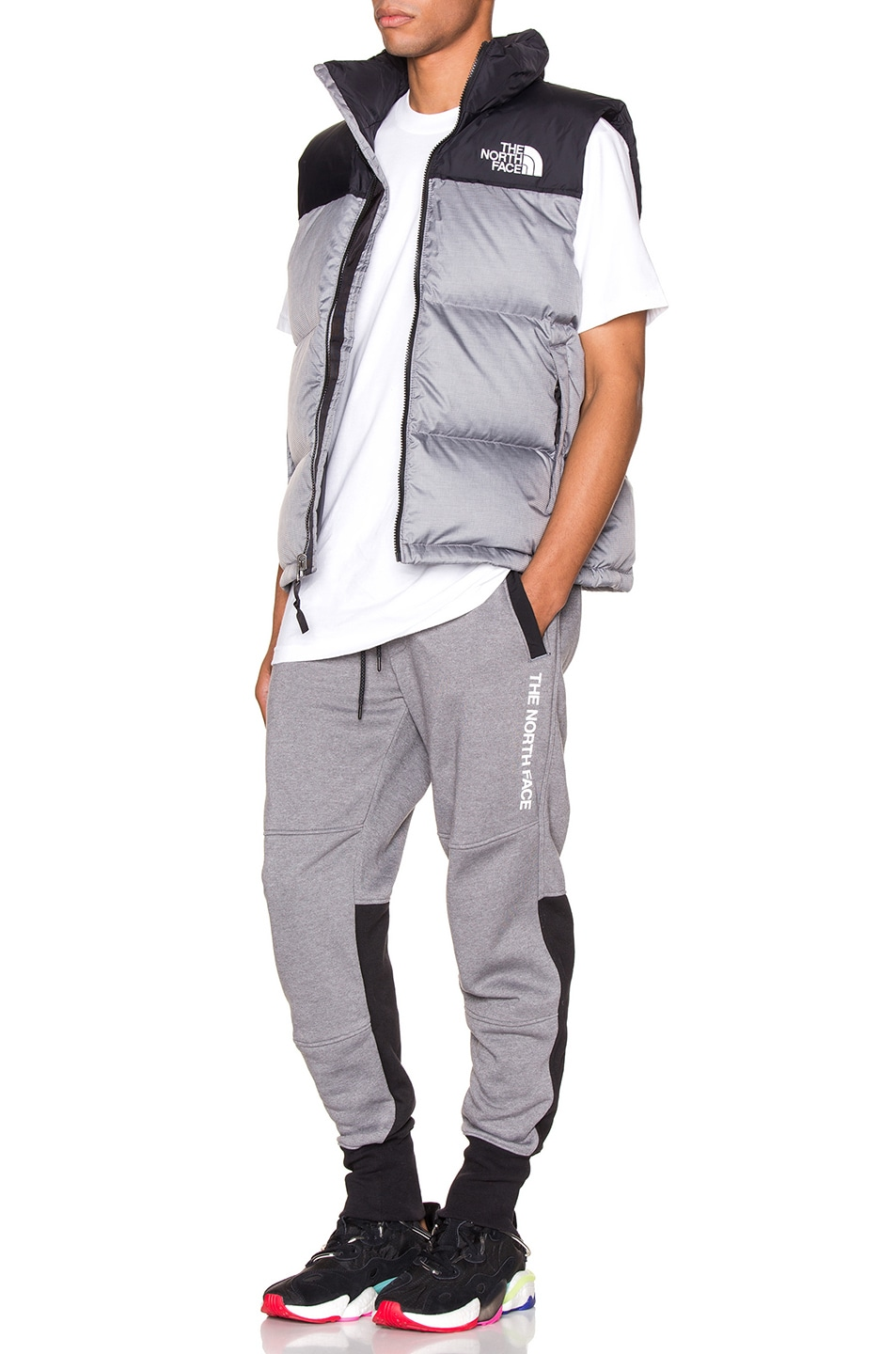 Image 5 of The North Face NSE Graphic Pant in TNF Medium Grey Heather