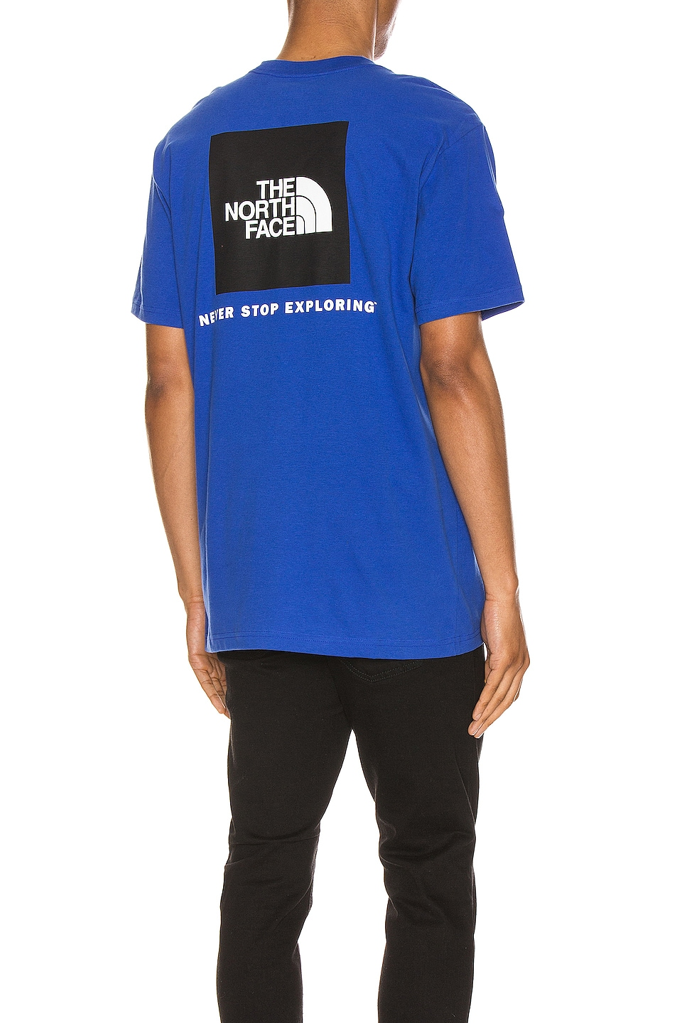 Image 1 of The North Face Red Box Tee in TNF Blue