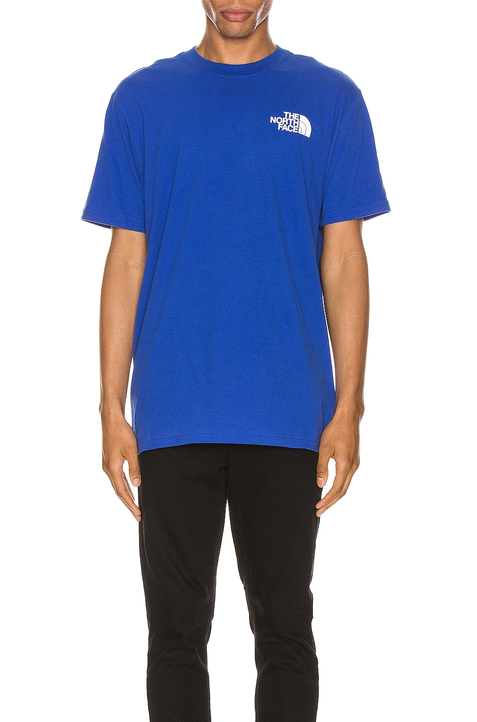Image 2 of The North Face Red Box Tee in TNF Blue