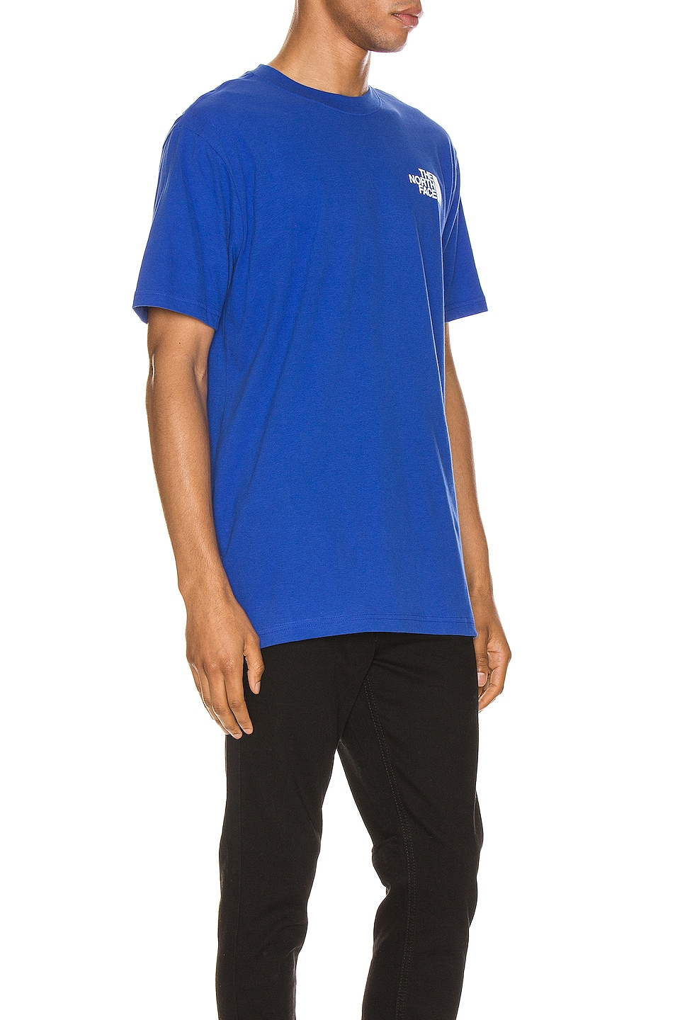 Image 3 of The North Face Red Box Tee in TNF Blue
