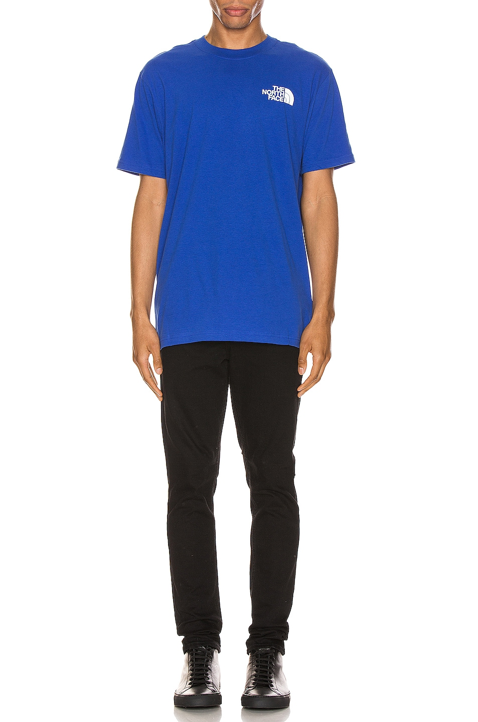 Image 5 of The North Face Red Box Tee in TNF Blue
