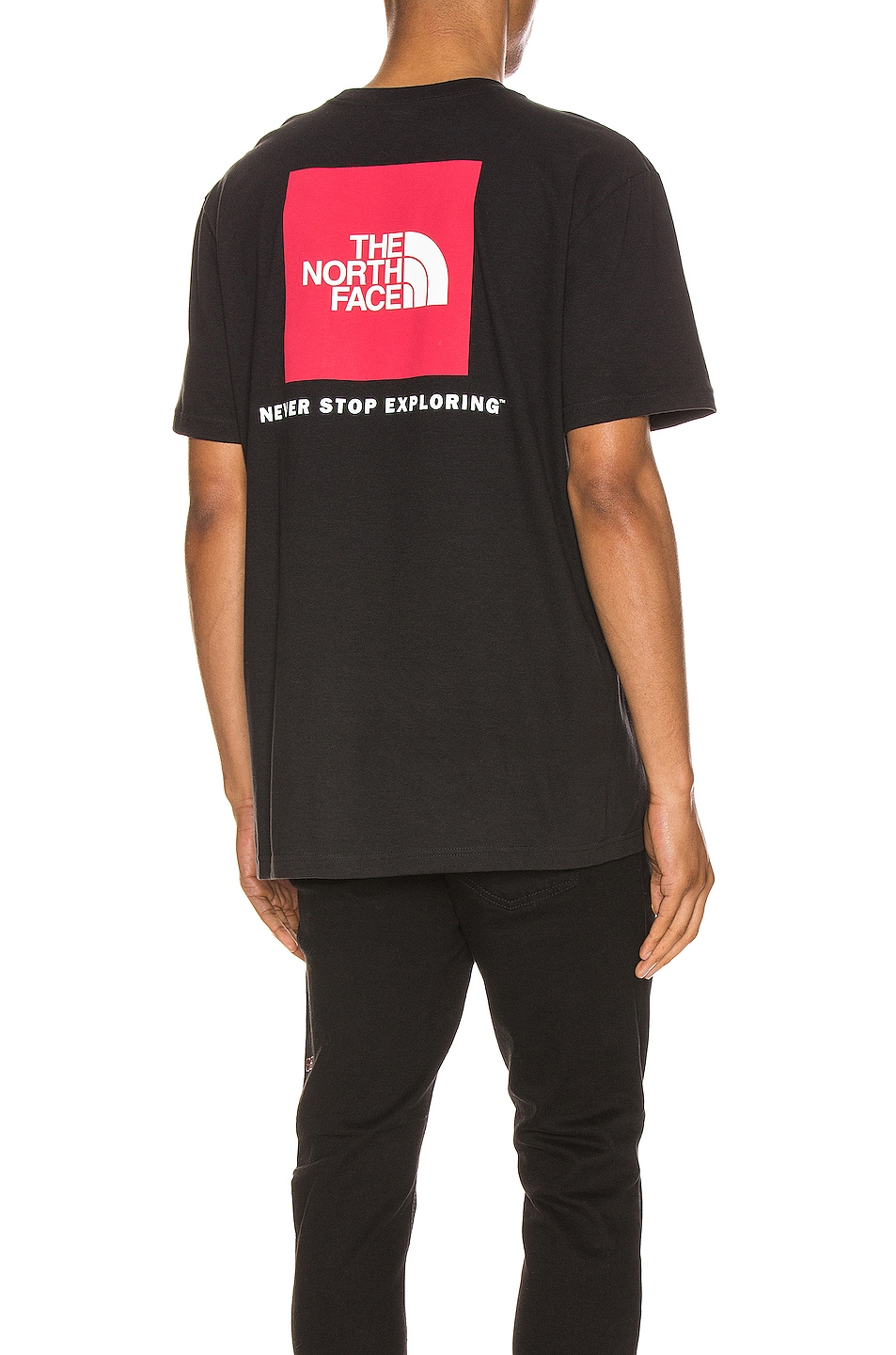 Image 1 of The North Face Red Box Tee in TNF Black