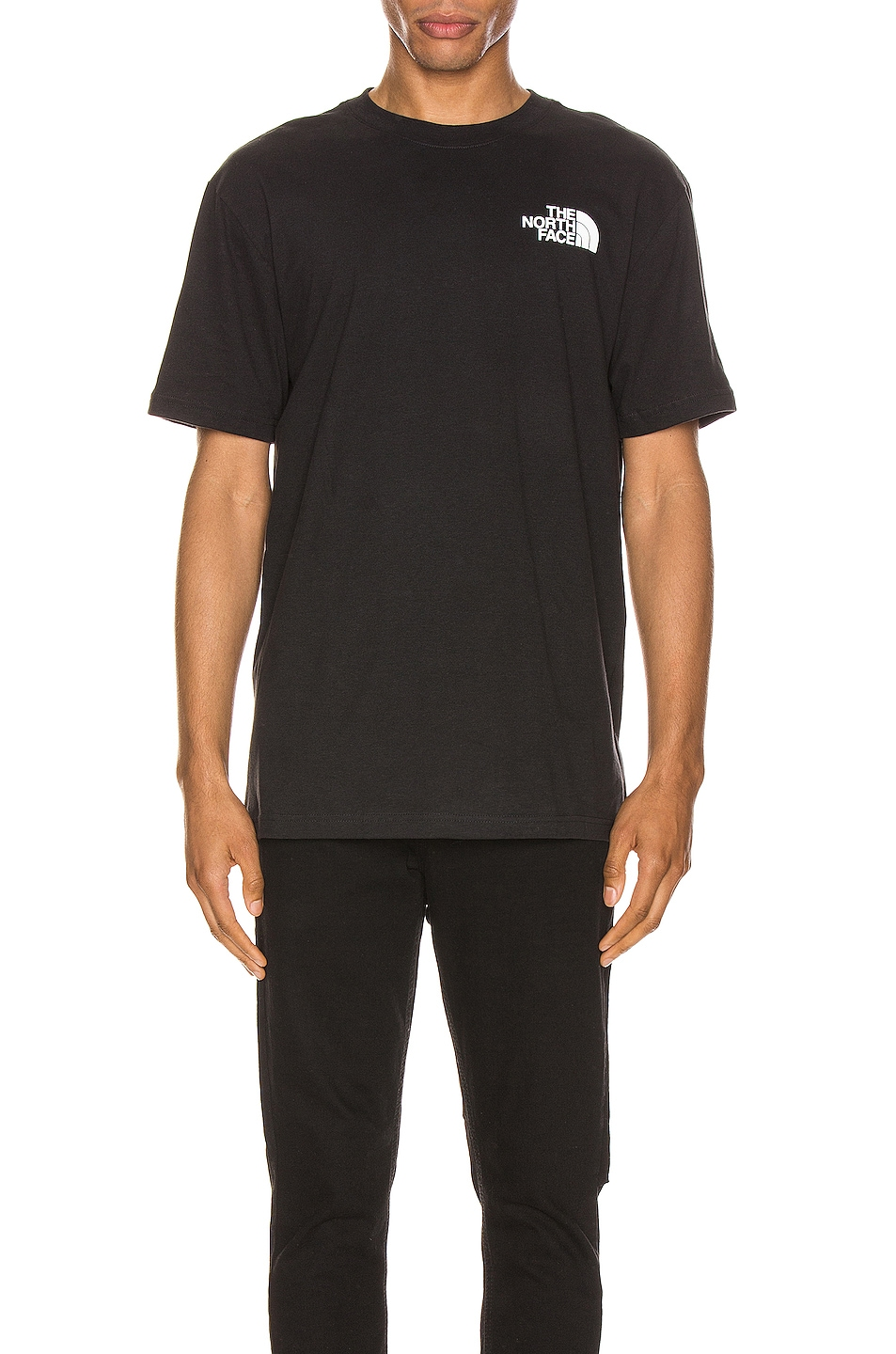 Image 2 of The North Face Red Box Tee in TNF Black