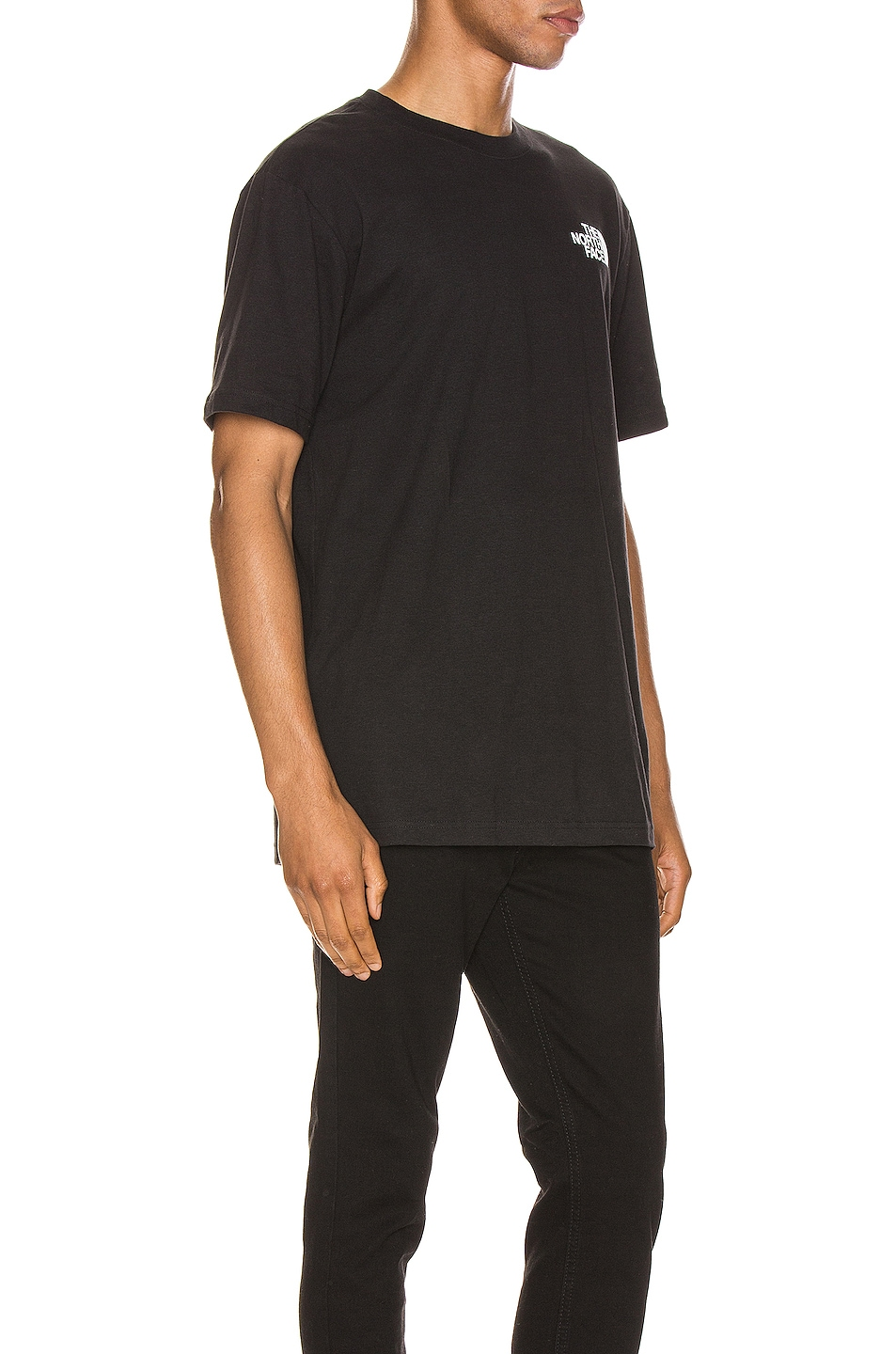 Image 3 of The North Face Red Box Tee in TNF Black
