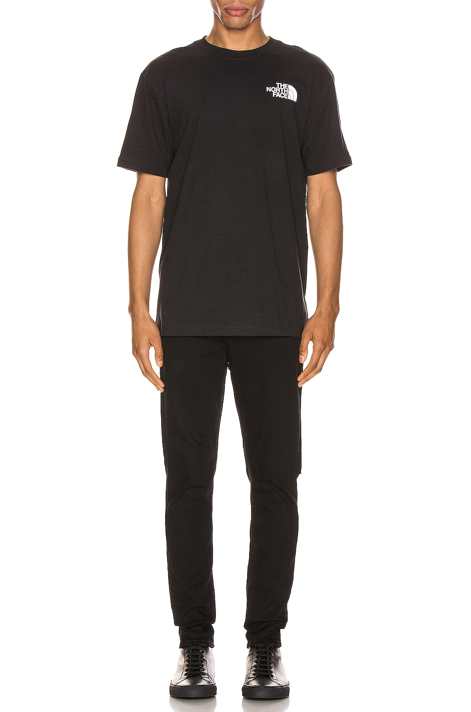 Image 5 of The North Face Red Box Tee in TNF Black