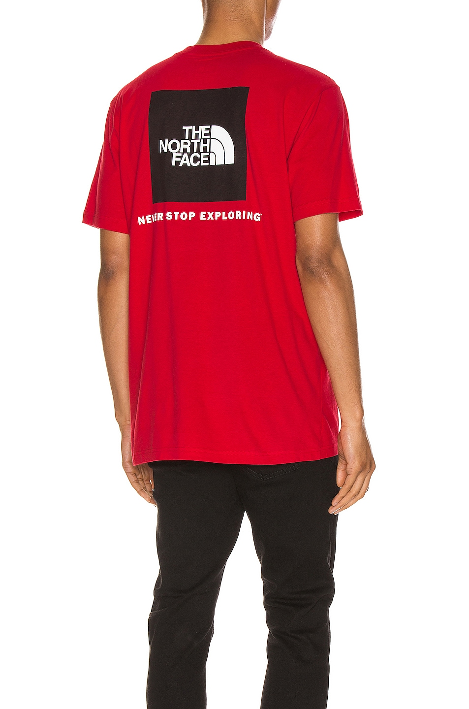 Image 1 of The North Face Red Box Tee in TNF Red
