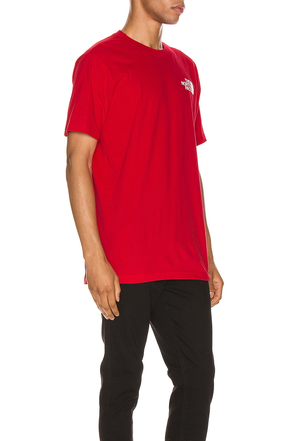 Image 3 of The North Face Red Box Tee in TNF Red