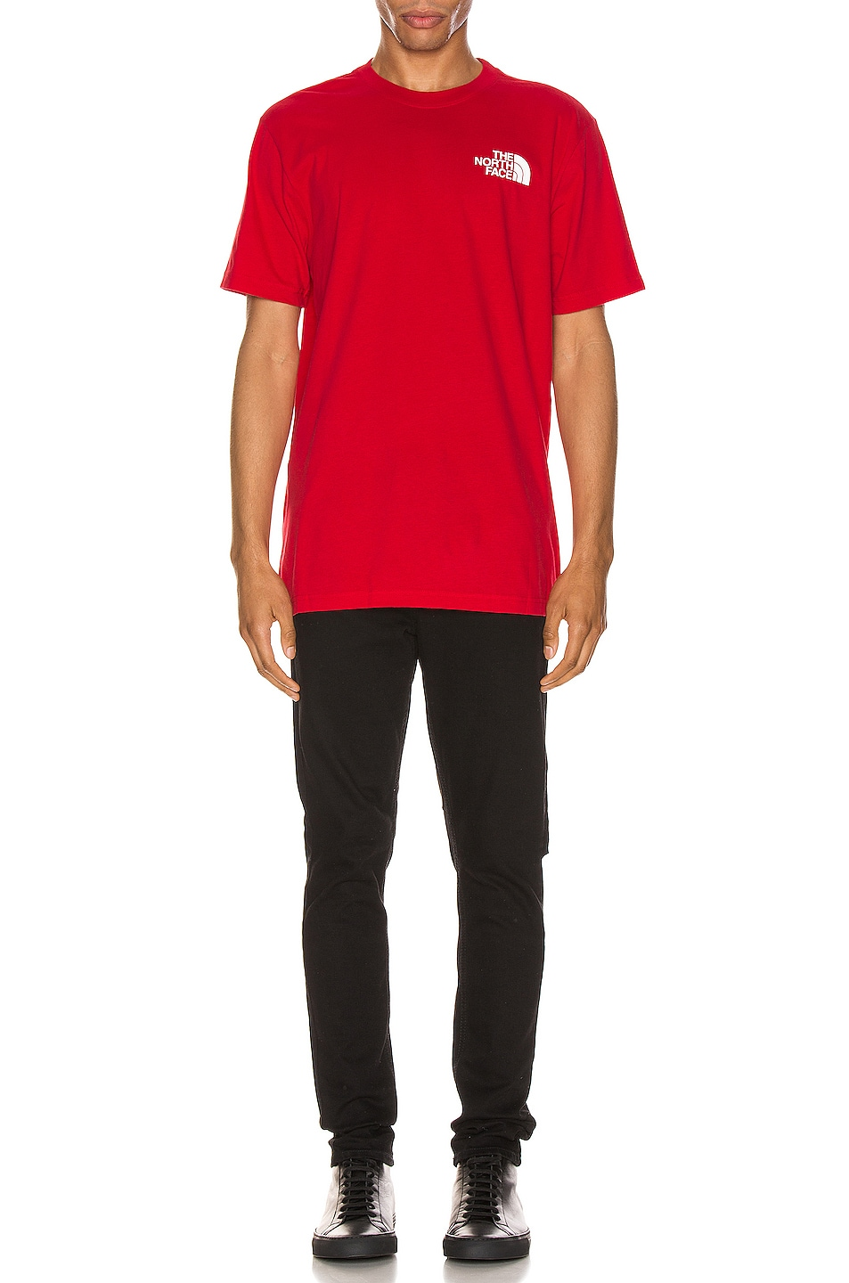 Image 5 of The North Face Red Box Tee in TNF Red